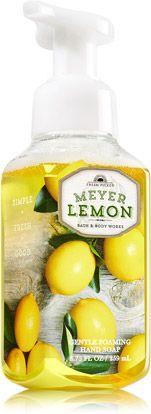 Meyer Lemon Gentle Foaming Hand Soap - Anti-Bacterial - Bath & Body Works