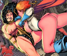 Wonder Woman vs. Power Girl