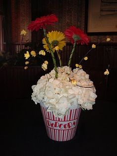 Movie Themed Centerpieces | Weddings, Do It Yourself, Style and Decor, Planning | Wedding Forums | WeddingWire
