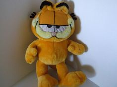 """GARFIELD Paws Play by Play 16"""" Stuffed Plush Toy Vintage"""