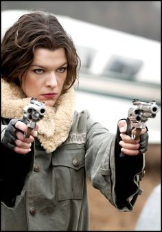 Alice from Resident Evil movies (Milla Jovovich)