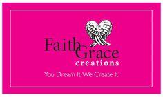 FaithGrace Creations logo, created by The Savvy Socialista