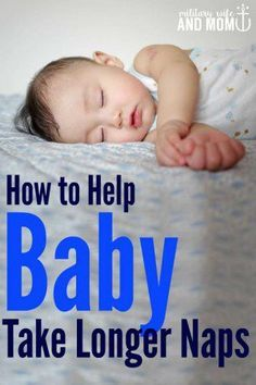 Looking for baby sleep tips to help with naps? Try these first!