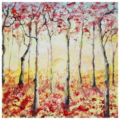 Oil Painting Limitededition Giclee Print Memories by di Studio007, $45.00