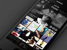 profile shot 25 Examples of Mobile UI Inspiration | Part 11