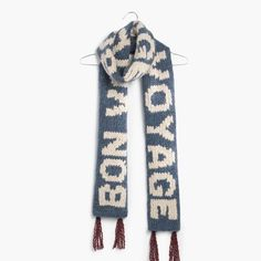 hint, hint – this Madewell bon voyage scarf is on my wishlist #giftwell