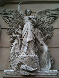angel statues in paris - Google Search