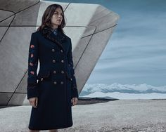 Morgane Polanski is the amazing protagonist of the Fay Fall-Winter 2016/17 women's collection.