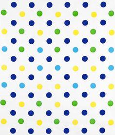 Blue+Confetti+Oilcloth+Fabric