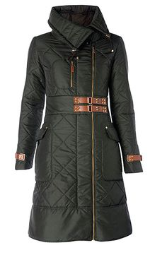 Interesting long model for a winter coat! Best Winter Coats, Winter Coats Women, Coats For Women, Clothes For Women, Winter Wear, Autumn Winter Fashion, Look Fashion, Fashion Outfits, Cute Coats