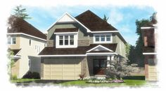 Newhaven 2726 sq ft 4 bedroom single family new home - Ottawa new homes for sale Open Family Room, Home And Family, Newhaven, Best Kitchen Designs, House Elevation, New Home Builders, New Homes For Sale, Next At Home, Model Homes