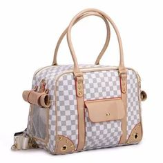 Classics Plaid Pet Cat Small Dog Travel Luxury Pu Leather Carrier Bag Outdoor Foldable Portable Dog Chihuahua Carrying Tote Bag ** Check out the image by visiting the link. (This is an affiliate link and I receive a commission for the sales) Airline Pet Carrier, Pet Carrier Bag, Puppy Carrier, Chihuahua, Maltese Dogs, Dog Purse, Pet Bag, Hiking Bag, Dog Supplies