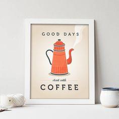 New coffee print