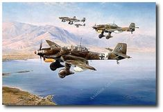 . Following its success in the Polish and French 'Blitzkrieg' campaigns, the Stuka was seen by the German High Command as the supreme new weapon to succeed long range artillery. With its banshee-like wailing siren the Stuka pilots would deliver destruction from the skies and create a devastating psychological effect upon all those below.