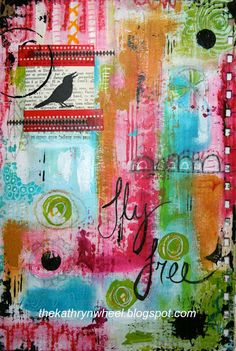 The Kathryn Wheel: Journal play and a few other things ....