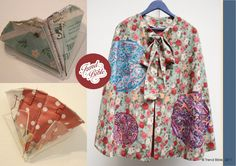Make Do And Mend    Image above; fabric pockets by Nelle Neilson, cape by Katie Bowker