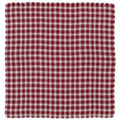 VHC Brands Breckenridge Burlap Plaid Tablecloth - 15459
