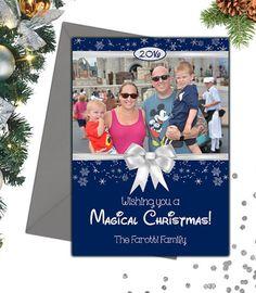 Personalized Disney Photo Christmas Card #ad #disney #christmasphotocards #christmascard Disney Christmas Cards, Magical Christmas, Christmas Photo Cards, Christmas Photos, Christmas Decorations, Ads, Crafts, Xmas Pics, Christmas Pics