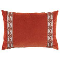 Lacefield Amalfi Tangelo Lumbar Throw Pillow @LaylaGrayce