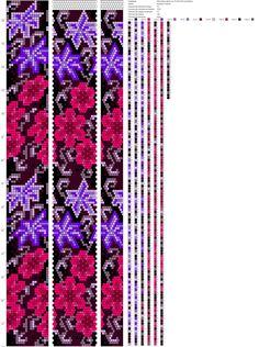 18 around tubular bead crochet rope pattern Crochet Bracelet Pattern, Beaded Necklace Patterns, Crochet Beaded Bracelets, Bead Crochet Patterns, Bead Crochet Rope, Bead Loom Bracelets, Beading Patterns, Beaded Crochet, Peyote Bracelet