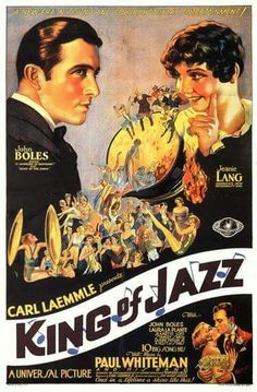 "1930: The acclaimed recent restoration of the 1930 two-strip musical ""King of Jazz,"" featuring Paul Whiteman and his Orchestra, along with John  Boles, Bing Crosby-with the Rhythm Boys-and Laura La Plante, will have it west coast premiere at the 52nd Cinecon Classic Film Festival. The vintage movie festival takes place  Sept. 1-5 at the Egyptian Theater in Hollywood. Other films    scheduled include the 1930 western ""The Spoilers,"" starring Gary Cooper, Ernst Lubitsch's 1926 silent comedy…"