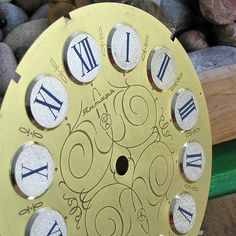 vintage clock face     Feb 14 by CoolVintage on Etsy, $15.50
