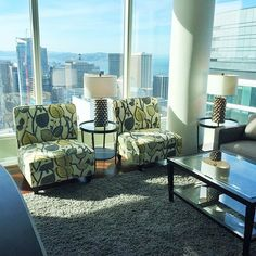 Our newest home staging at One Rincon Hill!