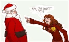 How dare you Santa ???!!!
