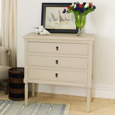 Orleans Wooden Bedside Chest Of Drawers