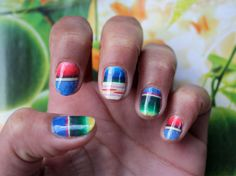 Love this for the summer, and they're easy decals, no handiwork required!