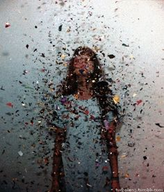 What's more fun than a photoshoot with confetti glitter?