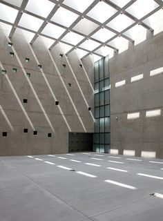 Silesian Museum in Katowice - fot. Deconstruction, Art Museum, Interior Architecture, Poland, Staircases, Aesthetics, Spaces, Google Search, Colors