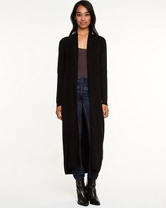 Viscose Blend Duster Cardigan - A floor-grazing duster cardigan is shaped in a soft and cozy viscose blend. Duster Coat, Colors, Jackets, Outfits, Ideas, Women, Style, Fashion, Down Jackets