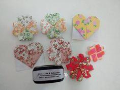 Marta Ide & Schaefer  - SP - Brasil -  encadernação artesanal, orinuno ou fabrigami (dobras em tecidos) e origamis - brindes corporativos, lembrancinhas, encomendas, decorações e aulas
