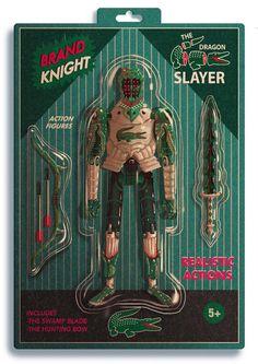 Brand Knights: Illustrations by Dexter Maurer
