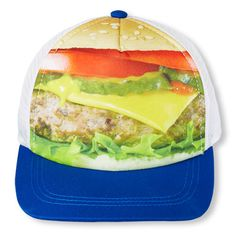 photo-real burger baseball cap   The Children's Place