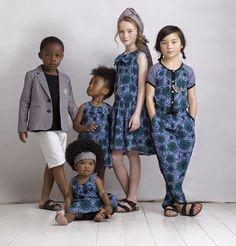 Petit Tribe Presents African Inspired Luxury Childrenswear Line African Inspired Fashion, African Print Fashion, African Prints, African Dresses For Women, African Wear, African Women, Kitenge, Mode Junior, Ankara Styles For Kids