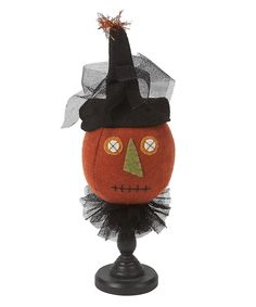 Pumpkin Figurine. This could be fun to re-make