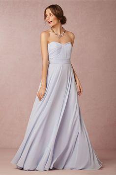 Quinn Bridesmaids Dress in harbor blue from @BHLDN