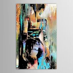 IARTS®Hand Painted Oil Painting People Naked-Back Figures with Stretched Frame 2016 - $114.39