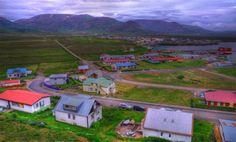 Icelandic Landscape (2011) - View over Skagaströnd in Northern Iceland