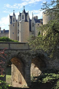 The Loire Valley has long been one of France's most popular regions and with good reason. Beautiful Castles, Beautiful Buildings, Beautiful Places, Castle Ruins, Medieval Castle, Photo Chateau, Loire Valley France, Saumur, French Castles