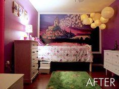 ♥ el cuadro y las lámparas para mi hija