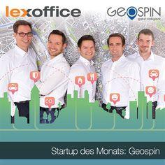 Start-up des Monats März ist Geospin, die wir auch auf die CeBIT begleiten werden. Schaut doch mal beim Interview vorbei, wenn Ihr erfahren wollt, wie Dienstleistung zur richtigen Zeit am richtigen Ort angeboten werden kann: https://www.lexoffice.de/blog/geospin/