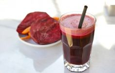 Beet Carrot and Coconut Drink