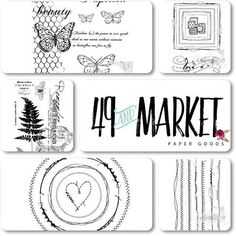 Brand new stamps from @49andmarket available in our store! www.thescrapbookdiaries.com #scrapbooking #cardmaking #cards #journaling #artjournaling #journalpage #artjournal #journalspread #painting #visualdiary #visualart #mixedmediaart #mixedmediacollage #artist #mixedmediasupplies #mixedmediacanvas #thescrapbookdiaries #49andmarket #scrapbookingpaper #papercraft #scrapbookinglayout