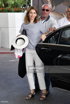 Sofia Coppola is spotted at Hotel Martinez during the 70th annual Cannes Film Festival at on May 23, 2017 in Cannes, France.