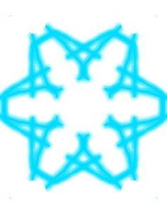 A bautiful snowflake