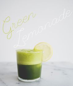 GREEN LEMONADE // The Kitchy Kitchen