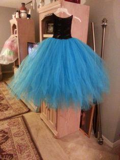 Paris blue and black tutu dress. Crochet Tutu, Black Tutu, Fairy Princesses, Princess Dresses, Tulle Dress, Fancy Dress, Little Girls, Costumes, Paris